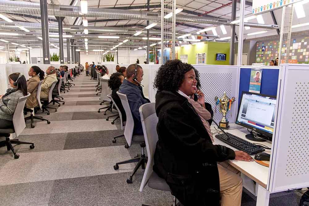 Capfin consultants in the Capfin call center